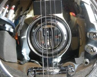 4 String SEAT Hub-Cap Guitar