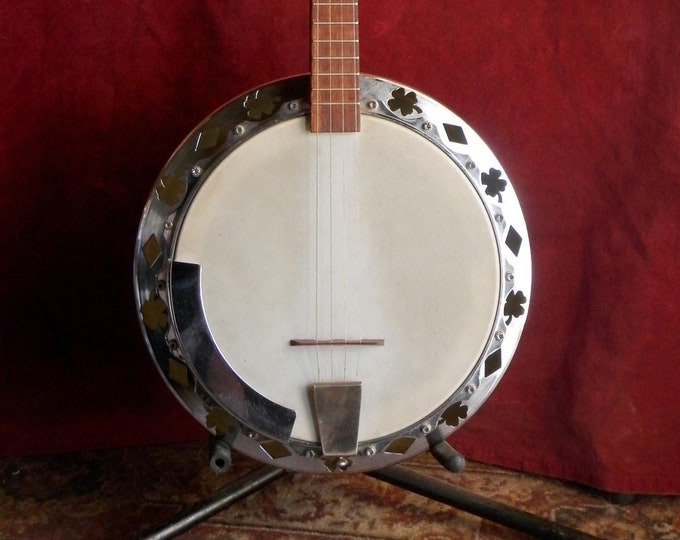 4 String Irish Tenor Banjo