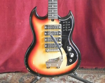 1970s Japanese Electric Guitar