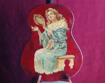 Mandolinetta 1902 - guitar shaped mandolin.