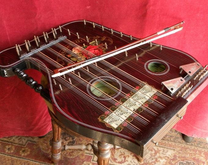 Concert Violin Harp Zither
