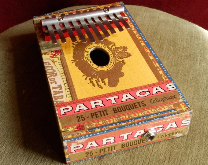 Cigar-Box Kalimba.