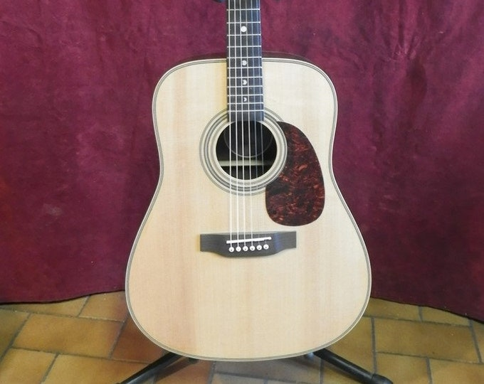 Luna, Americana Drednought Acoustic Guitar.