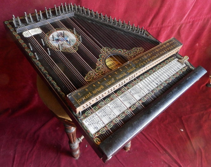 Mandolin-Harmonie Chord Zither