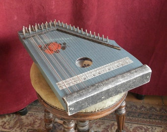 Small Guitar Zither by Scala.