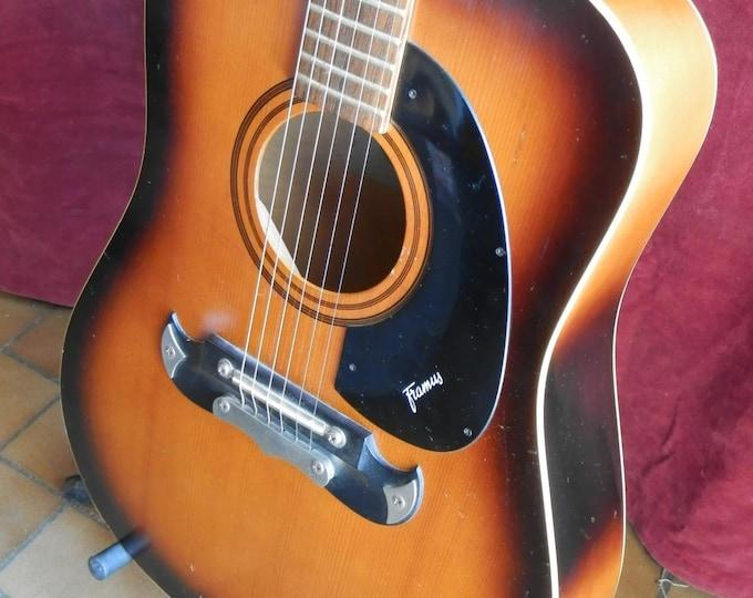 Framus Texan 6 Stringed Acoustic Guitar.
