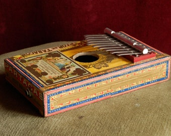 Cigar-Box Kalimba.