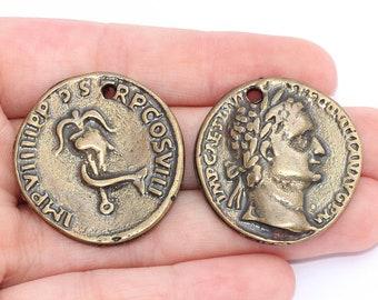 Römische Münze Anhänger Etsy