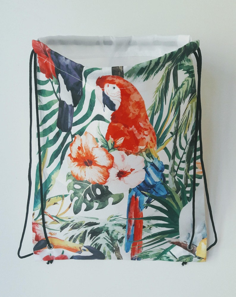 Hit Bag Perroquet  sac à dos avec lanières  33 x 40 cm  image 0