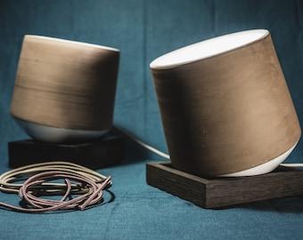 handmade pottery lamp, new design idea, ground lamp