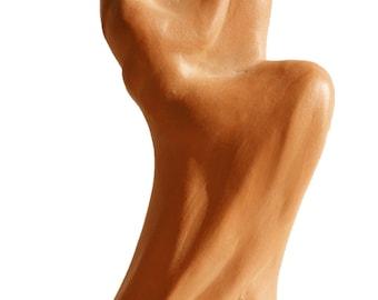 Terracotta sculpture, #wedding favor, #favors, #valentine gift, #valentine's day