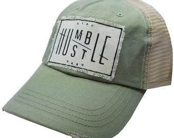 6b121ccb7715c Hustle trucker hat