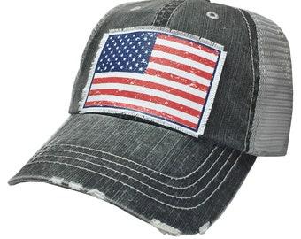 f29ccc6cc Flag hat for women | Etsy