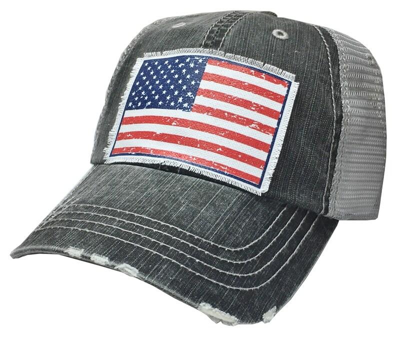 American Flag Trucker Hat Women s Baseball Cap Womens  a94c2978426