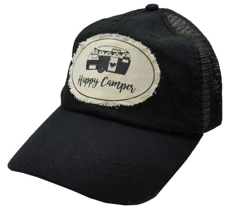 a09b3ef37 Women's Trucker Hat, Black Baseball Cap, Trucker Cap,