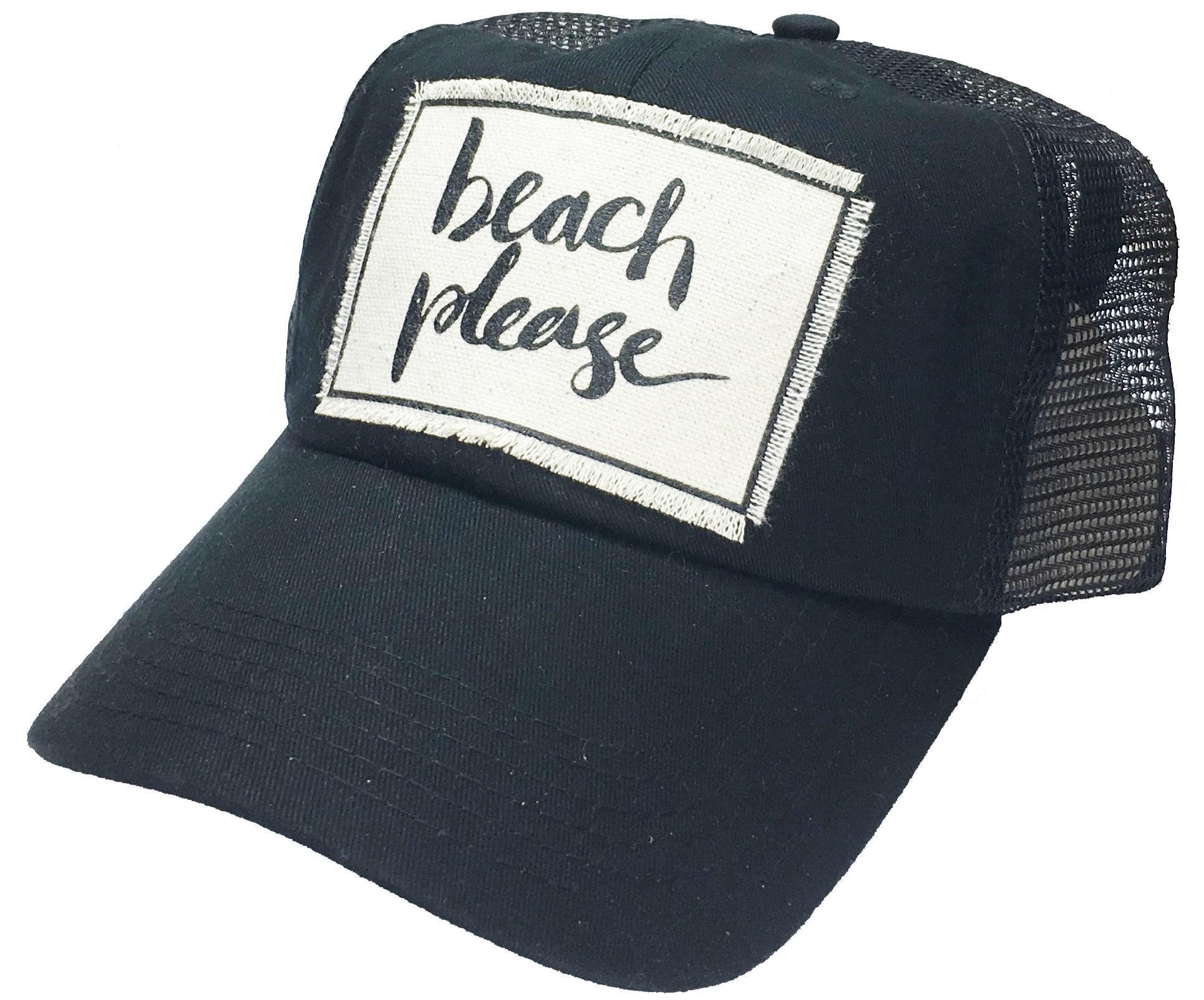 fa41357b4 Women's Trucker Hat Black Trucker Cap