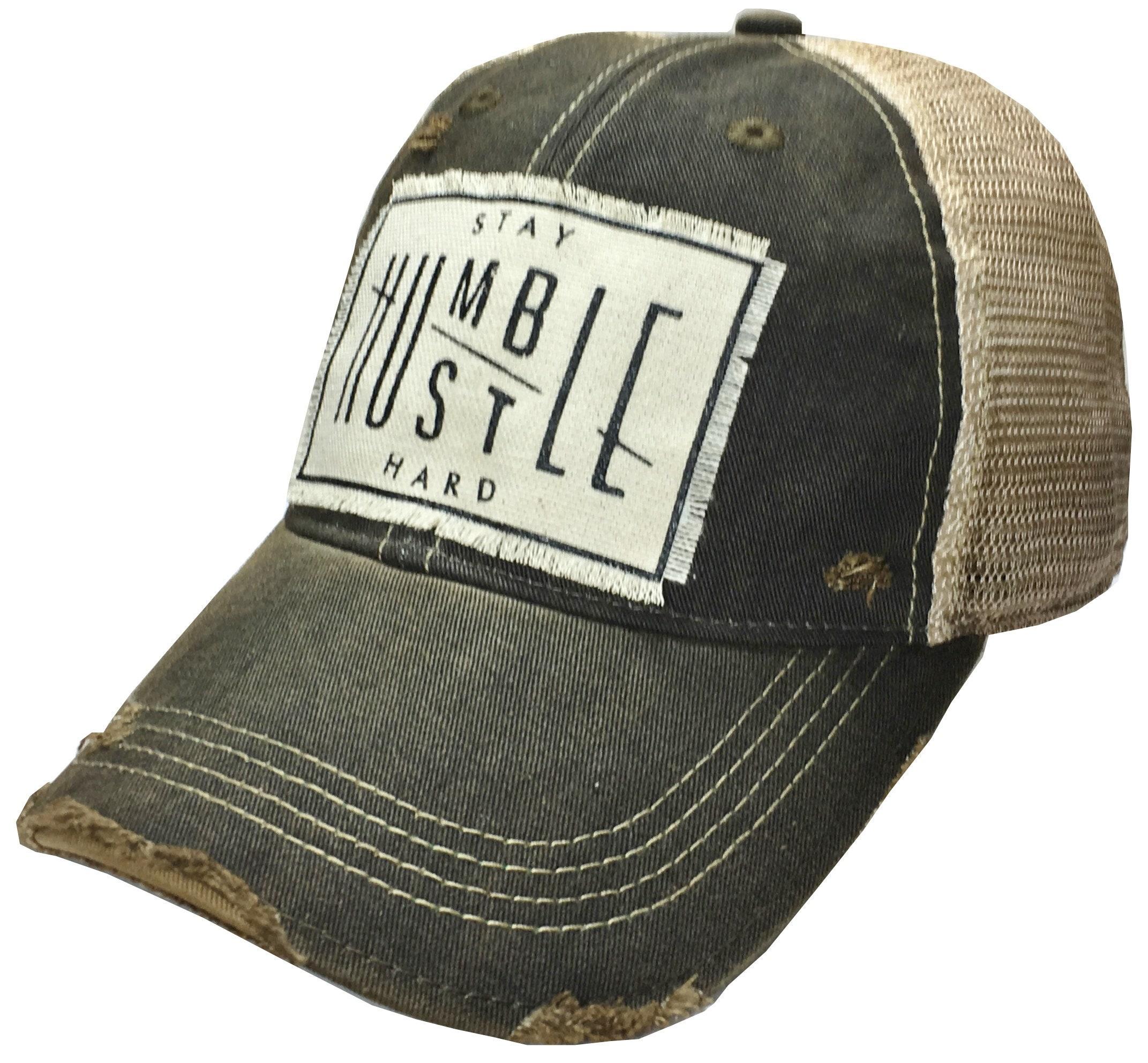 b1aae87e772c13 Womens Vintage Distressed Cap Black Trucker Hat Womens Caps | Etsy