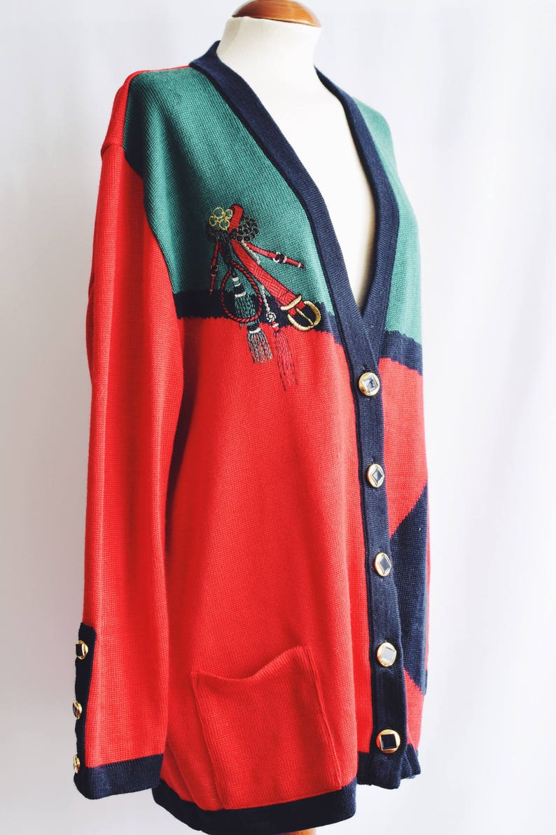 sewed red dot Jacket