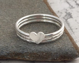 3d361dc579494 Stackable Rings   Etsy UK