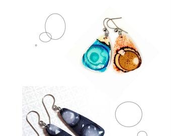 Tuto CHANGING (français) = une nouvelle façon de cuire vos pièces en polymère.