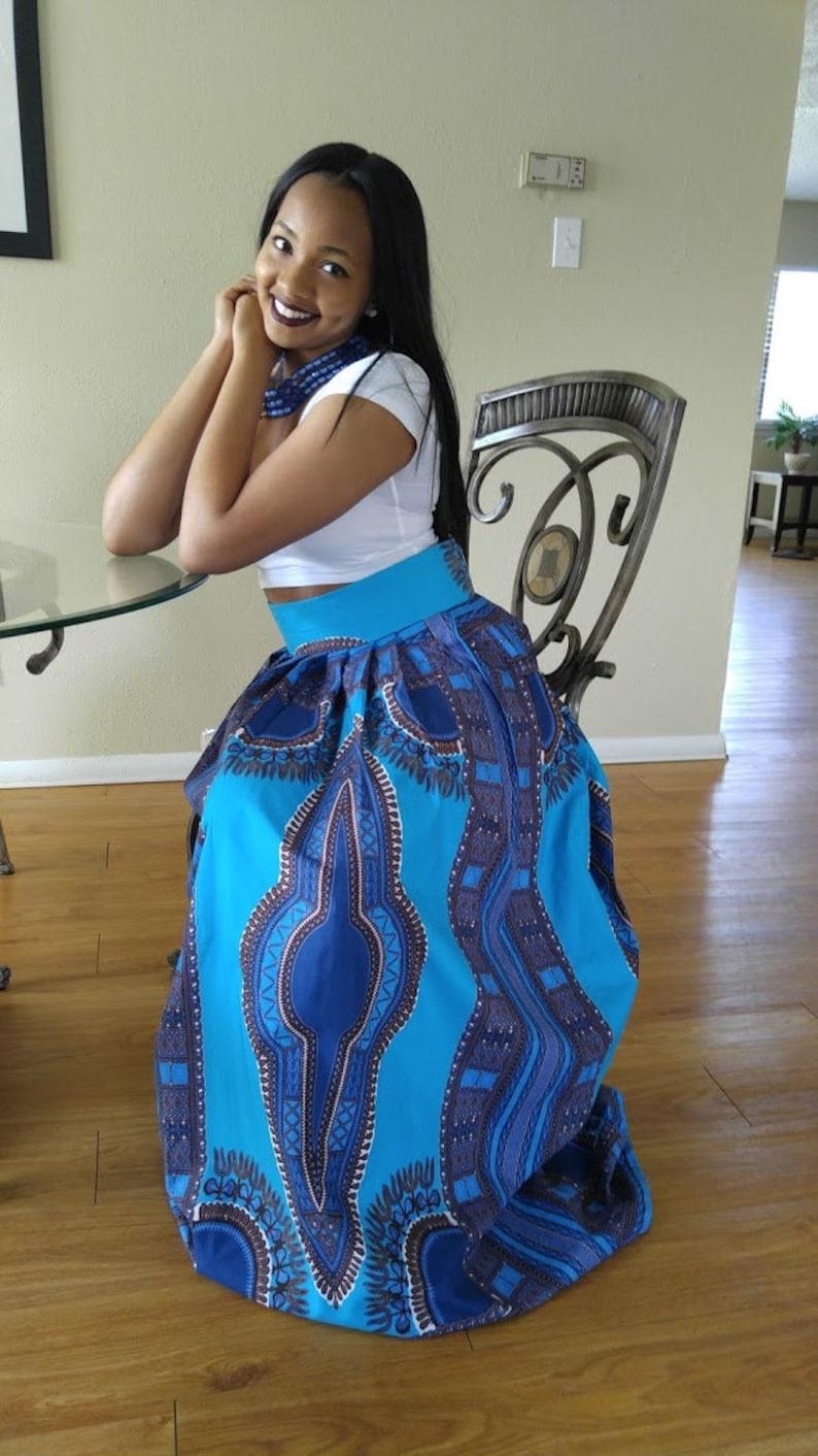 9caaf0c6dc African print skirt African maxi skirt Dashiki maxi skirt   Etsy