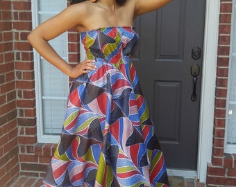 African dress, African maxi dress, African print dress, African clothing, African fashion, African maxi dress, Ankara dress, Ankara maxi