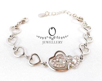 Love of Hearts Bracelet