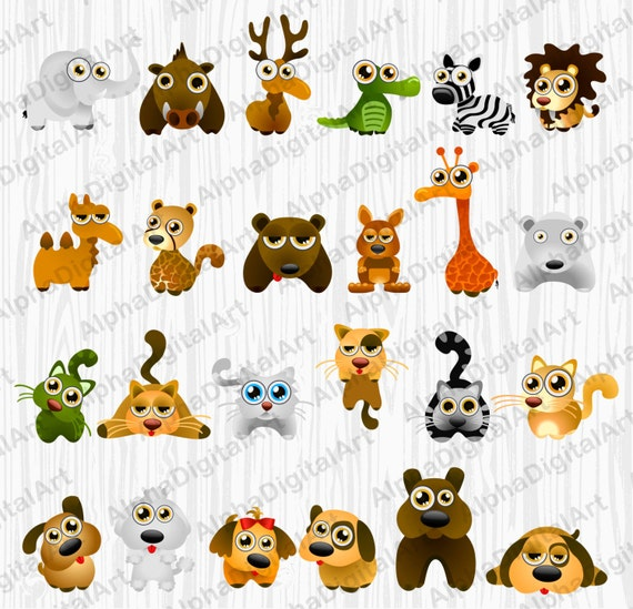 Cartoon Farm Animals For Kids Cute Goat Smiles Stock Illustration -  Download Image Now - iStock