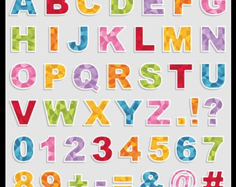 26 Metalic Alphabet Letters Metalic Numbers Grey Alphabet