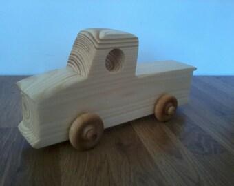 Wooden truck