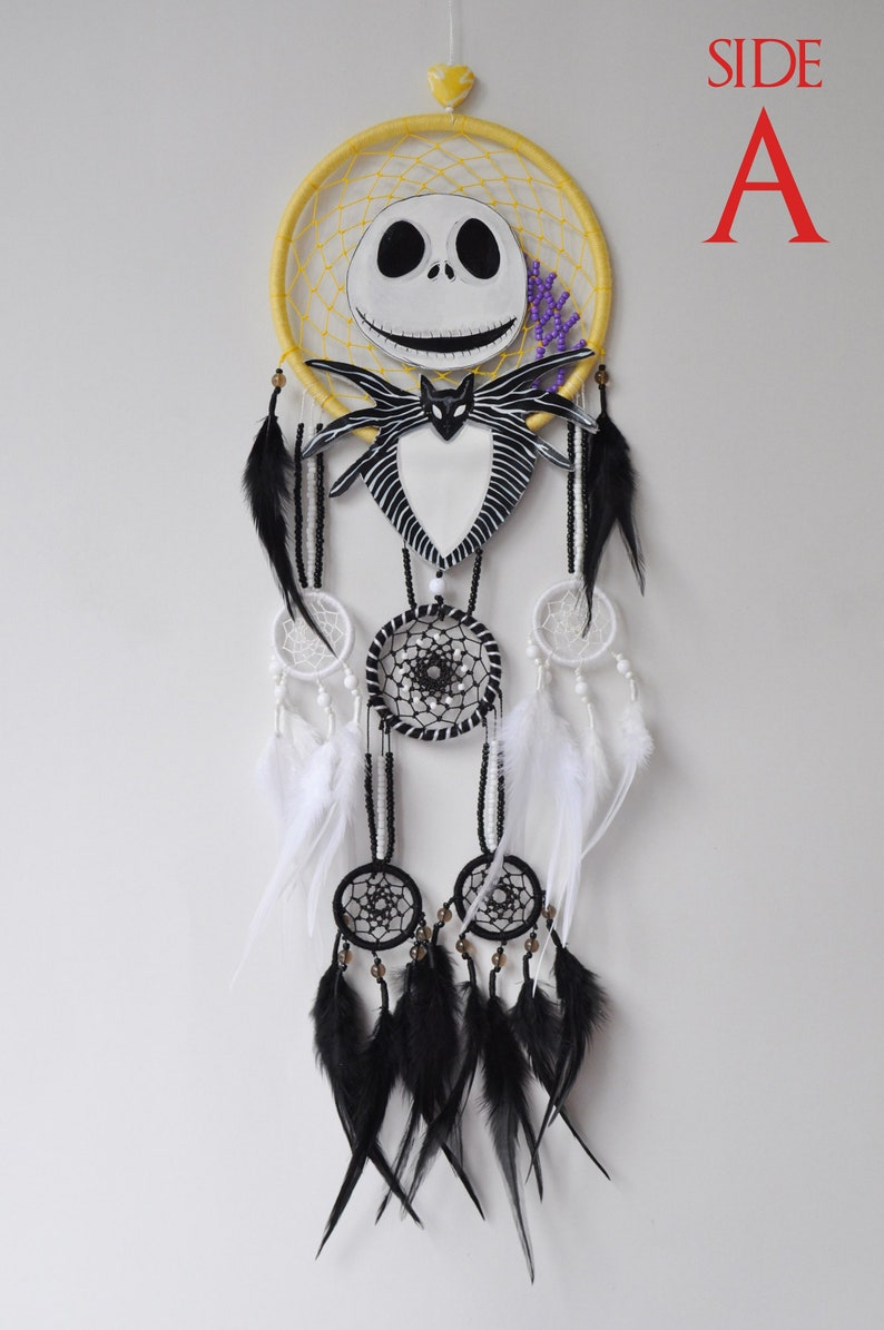 643b6d4e4db Jack Skellington Large Dream Catcher The Nightmare Before