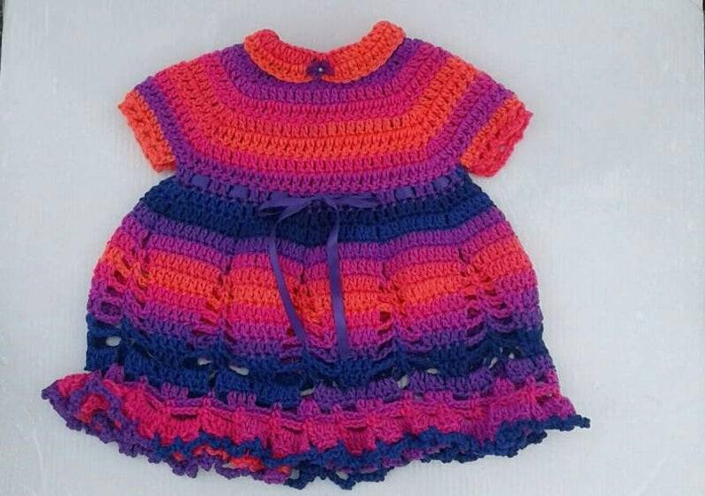 Baby Dresses Crocheted Baby Dresses Spring Girls Dresses Etsy
