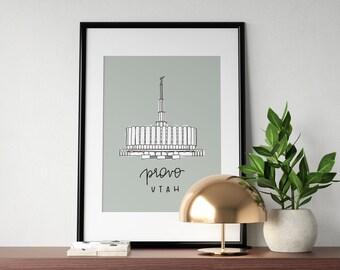 Temple Print