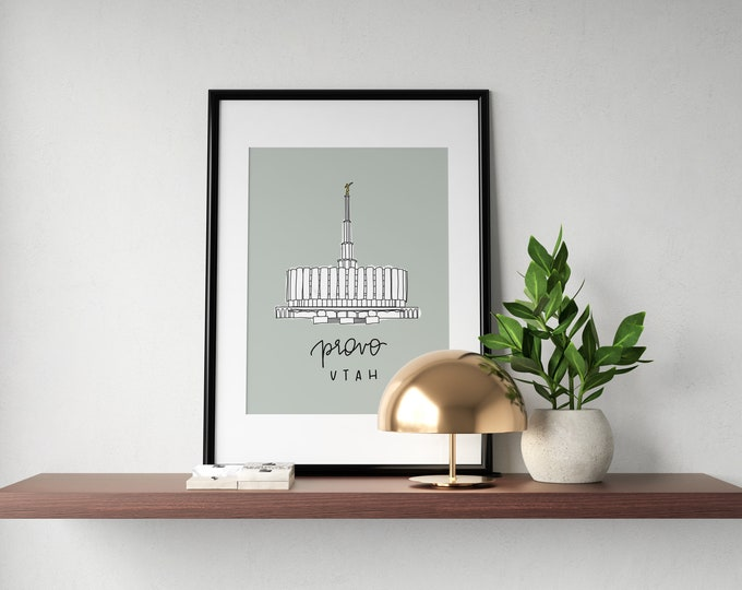 Featured listing image: Temple Print
