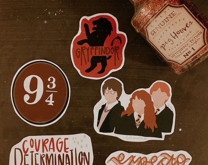 Featured listing image: Hogwarts Stickers