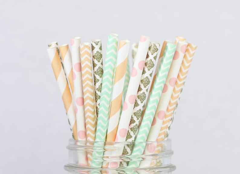 Other Baking Accessories Rose-doré Home & Garden Latest Collection Of 24 Pailles En Papier