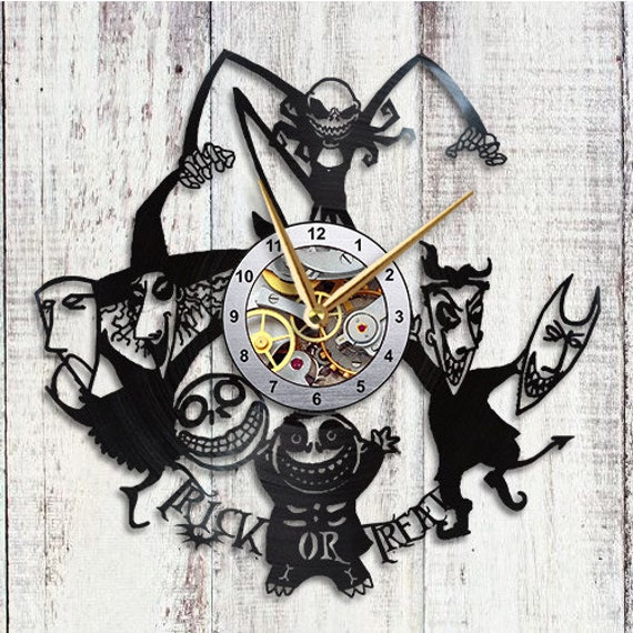 image 0 - Nightmare Before Christmas Clock