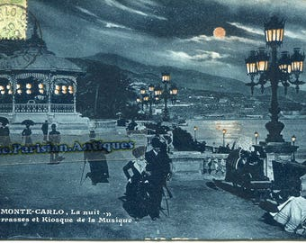 Monte Carlo 1900 by night