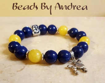 Sorority Line Number Collection-Royal Blue & Gold