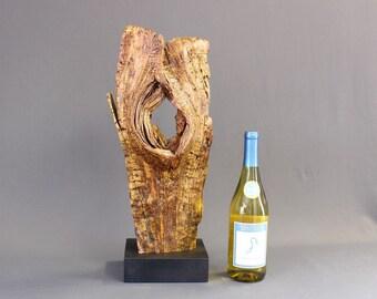 Wood Sculpture, Forest Sculpture , Driftwood Sculpture : 18068 Forest Veteran