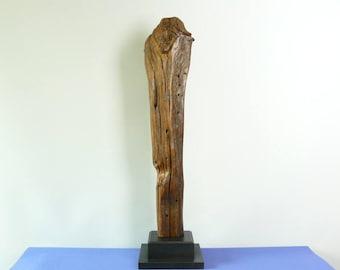 17016 Wood Sculpture, Forest Sculpture , Driftwood Sculpture  : 17016 Forest Watcher