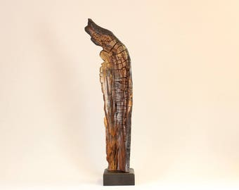 Wood Sculpture, Forest Sculpture , Driftwood Sculpture : 17070 Forest Geometry