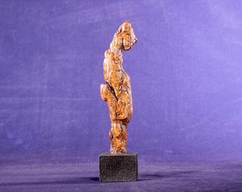 Natural Wood Sculpture, Forest Sculpture , Driftwood Sculpture: Chic 20105