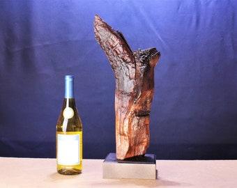 Natural Wood Sculpture, Forest Sculpture , Driftwood Sculpture: 19006 Forest Improvisation