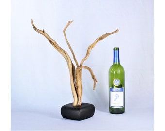 Natural Wood Sculpture, Forest Sculpture , Driftwood Sculpture: 21004 Grace
