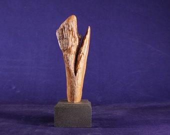 Natural Wood Sculpture, Forest Sculpture , Driftwood Sculpture: River Canyon 20107