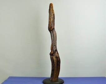 Wood Sculpture, Forest Sculpture , Driftwood Sculpture : 17039 Tranquility
