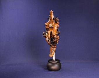 Natural Wood Sculpture, Forest Sculpture , Driftwood Sculpture: 20005 Forest Baritone