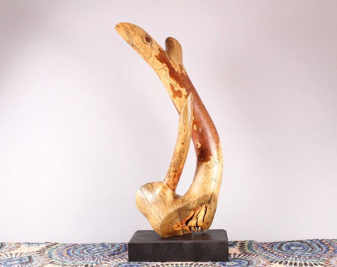 Featured listing image: Wood Sculpture, Forest Sculpture , Driftwood Sculpture : 18011 Equilibrium