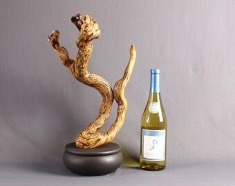Wood Sculpture, Forest Sculpture , Driftwood Sculpture : 18040 Hydra